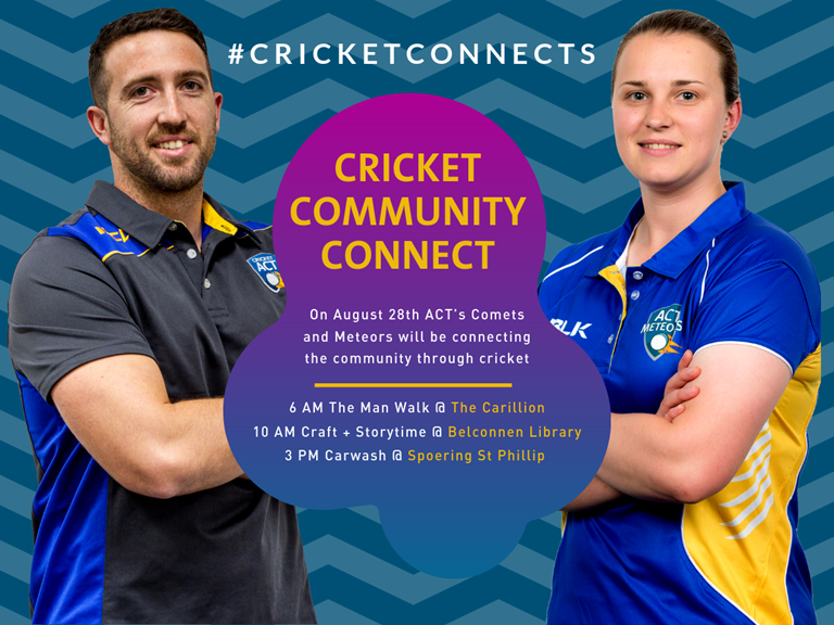 djali bloomfield erica kershaw act meteors and comets cricket connects community day