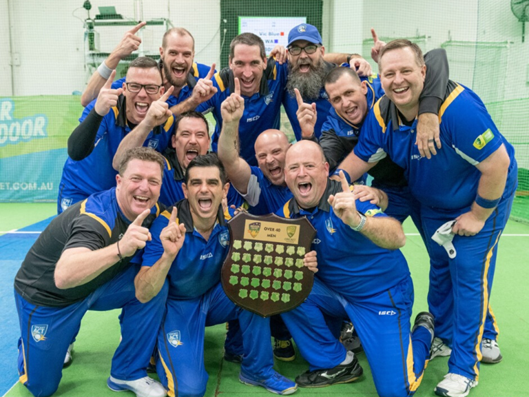 ACT's 40 & Over Men's were victorious in 2019